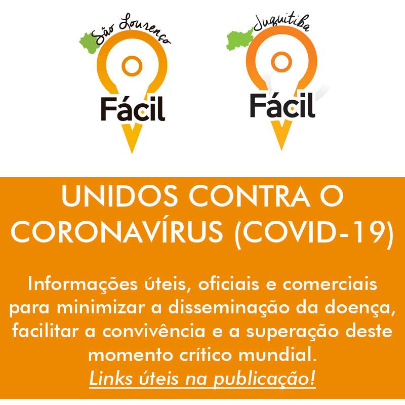 São Lourenço Fácil e Juquitiba Fácil contra o coronavírus
