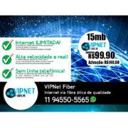 VIPNet Fiber - Internet via fibra ótica de alta qualidade